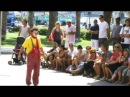 Clown Durilov - vol 1 - Barcelona street laugh attack Documentary Movie 西班牙街头小丑