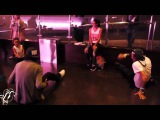 2014 #Stepback with Les Twins Larry and Laurrent, Majid, & Lam   Cypher at FSS15 Top Status   #SXSTV