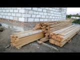 Начало стройки, перекрытие первого этажа (день 4)