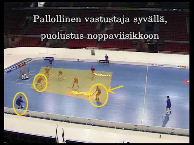 тактика игры в floorball (ч.2)