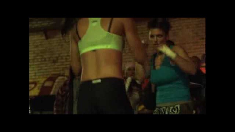 Gina Carano fight scene in Blood and Bone movie