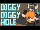 Yogscast - Diggy Diggy Hole [2014] - Lyrics