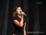 Полина Гагарина - Je t'aime (мастер-класс New wave 2008)