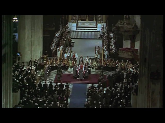 Sir Winston Churchill - Funeral (I Vow To Thee) - The Nations Farewell