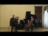 Carl Frühling Trio a-moll für Klarinette, Cello und Klavier \ 1. Mäßig schnell