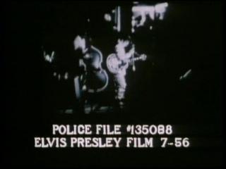 Elvis Presley police footage