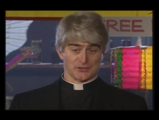 Отец Тед, случай в баре.