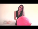 (Bonus Behind Scene VLog Footage) Hot Girl Looner Finger Nail To Pop  Pin To Pop Balloons For Fun