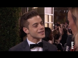 Rami Malek Admits Childhood Crush on Kirsten Dunst  Live from the Red Carpet  E! News