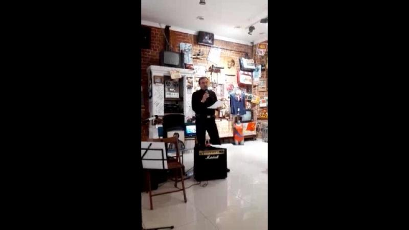 Квартирник 24.01.2016 памяти В.С. Высоцкого. Музей соцбыта, Казань.