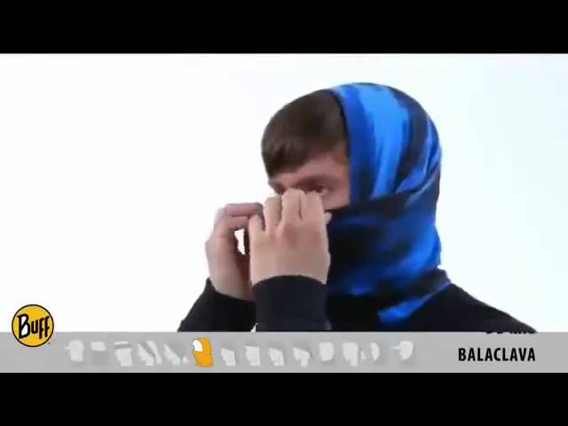 Как можно носить бандану трансформер Buff