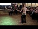 Восточный танец под этнические барабаны (Татьяна и Николай) - Академия Танца