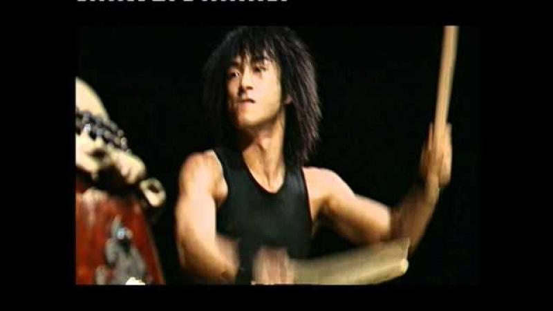 Шоу японских барабанов ЯМАТО. Композиция REKKA