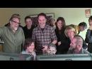 The Walking Dead pranking Daryl / Norman Reedus 2014