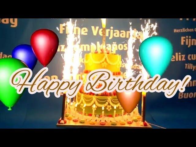 Happy Birthday Song (Original) DJ BoBo