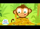 The Bananas Song | Counting Bananas | Super Simple Songs