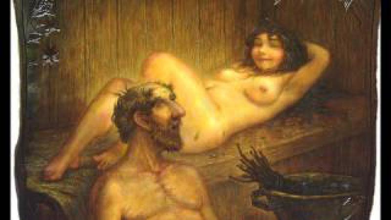 Мария Мордасова Топится, топится в огороде баня