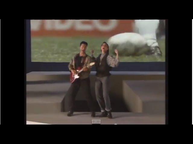 Gianna Nannini Edoardo Bennato UN'ESTATE ITALIANA Videoclip Italia 90