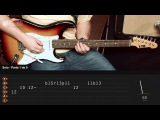 Smoke on The Water - Deep Purple (How to Play - Guitar Solo Lesson)