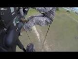 Высадка американских солдат  Я валялся от смеха=))