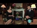 Вечерний Ургант Молчим с голливудскими звездами Моника Беллуччи Monica Bellucci