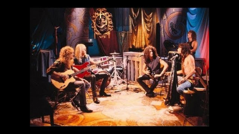 Aerosmith - Love Me Two Times (Unplugged)