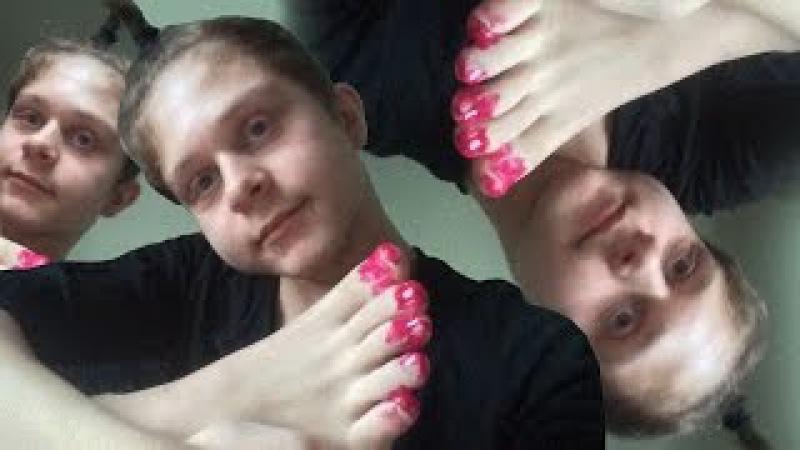 Как красить ногти в школу
