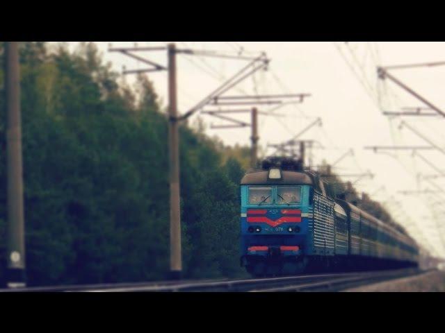 ЧС8-076 с пассажирским поездом