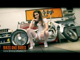 Bikes and Babes TV sexy strip clips 1222 Model ZENA LITTLE - TRAILER
