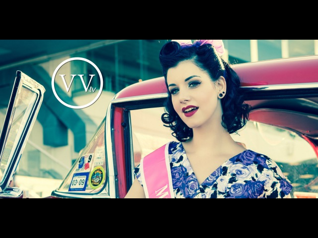 VVtv S02E10 Victory Rolls Hair Tutorial with Miss Victory Violet