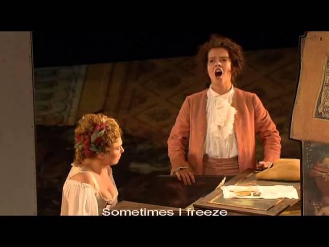 Le nozze di Figaro W A Mozart Voi che sapete che cosa è amor Angelika Kirchschlager