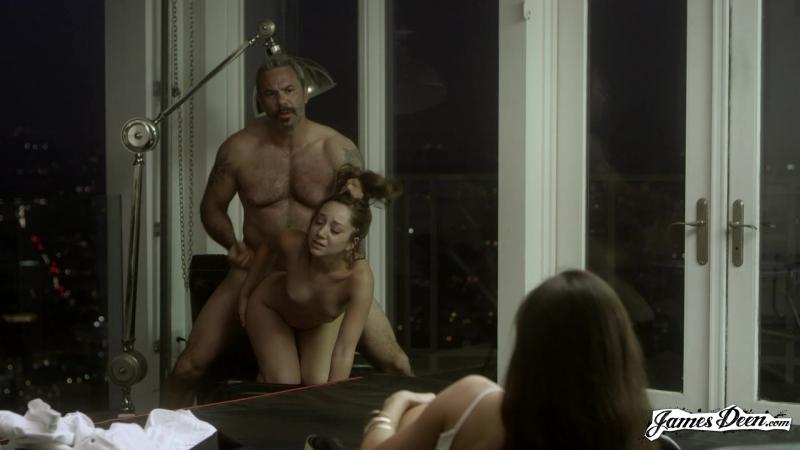 Заставил заниматься сексом девушку на глазах у другой (жесткий секс, большая попа, минет, Hardcore, Deep Throat Порно, HD Porn)