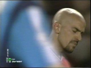 ЛЧ 2001-02. 1-2 финала. Первый матч. Манчестер Юнайтед - Байер 2 часть