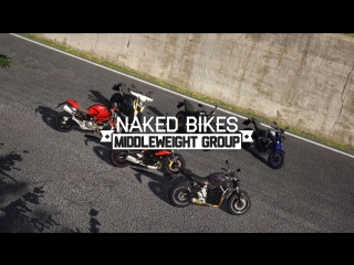 Ride 2015 the game Naked bikes : Middleweight group