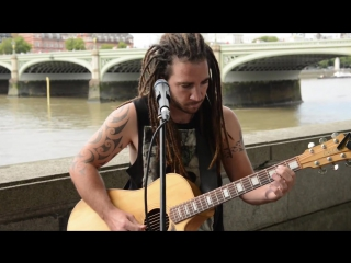 Pink Floyd Wish You Were Here Cover - Guitar Street Performer Version