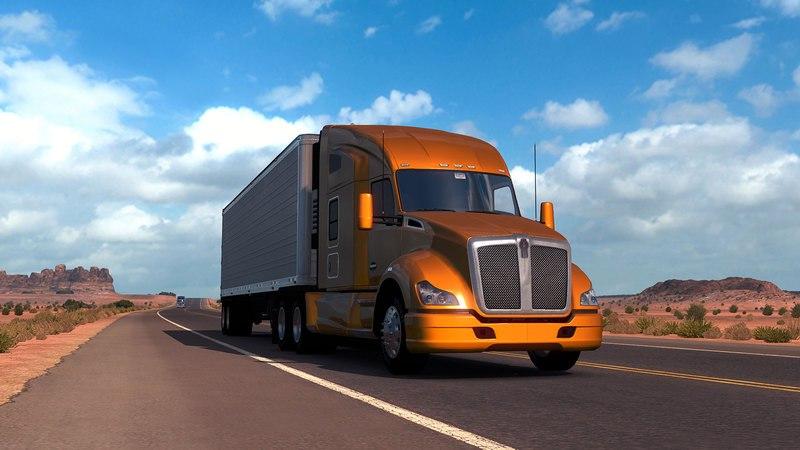 American Truck Simulator (RUS / ENG) [Repack] от R.G. Механики скачать торрент с rutor org с rutor org