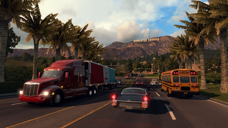 American Truck Simulator (RUS / ENG) [Repack] от R.G. Механики скачать торрент с rutor org