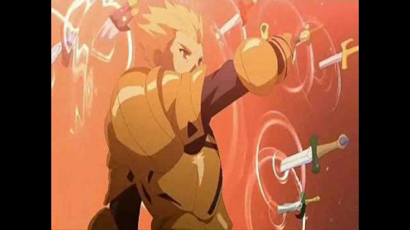 AMV Fate Stay Night Saber VS Gilgamesh