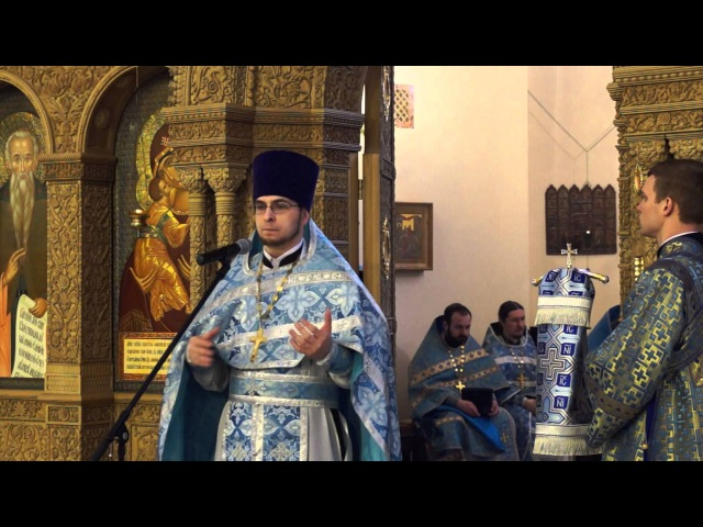 2016-02-21 10:41 Проповедь о.Алексея Волчкова на (Лк 18, 10-14):