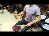 Уроки драмминга на пэде. Часть 1. Блэк и Дэч метал от Глеба