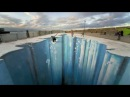 3D рисунки на асфальте, обман зрения иллюзии картины