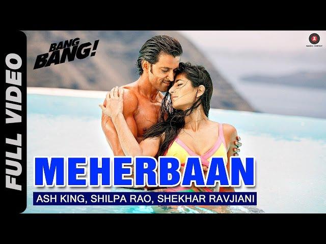 Meherbaan Full Video | BANG BANG! | feat Hrithik Roshan Katrina Kaif | Vishal Shekhar