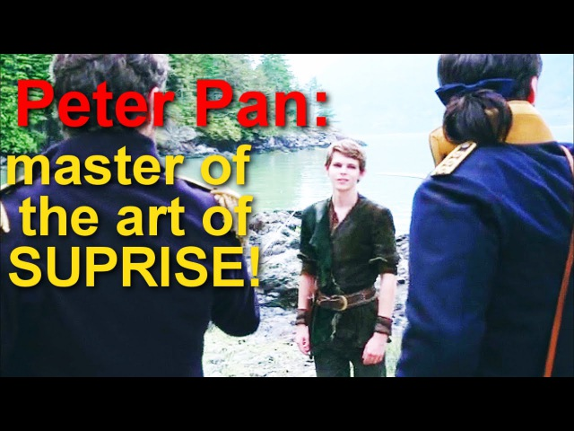 Every Time Peter Pan Pops Up On OUAT [ sound effects]