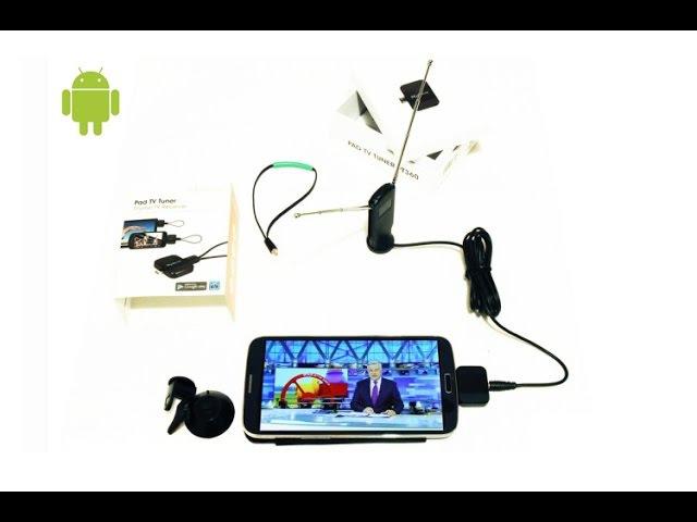 Geniatech MyGica PT360 (DVB-T2 Pad TV Tuner) - USB тюнер для Android 0
