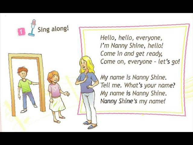 English for children. Spotlight 2. Page 4 ex 1. Let's Go chant
