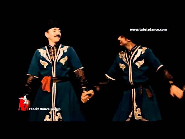 Yalli ancient azeri dance by tabriz dance group