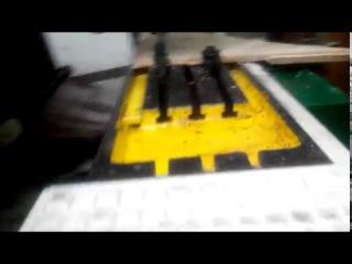 Пробна обробка деталі на ЧПУ версаті 6Р11Ф3