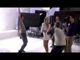 Съёмки клипа Дана Балана и Веры Брежневой на песню Лепестками слёз