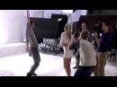 Съёмки клипа Дана Балана и Веры Брежневой на песню «Лепестками слёз»