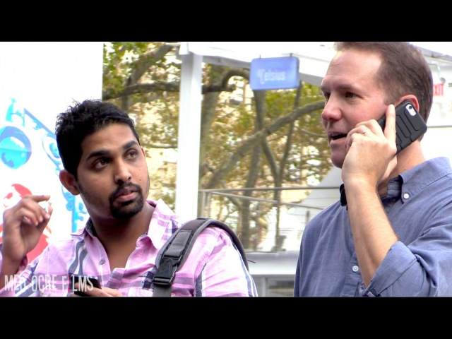 MediocreFilms - CELL PHONE CRASHING in NEW YORK CITY!